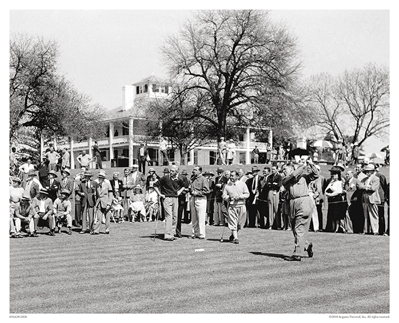 Bobby Jones Tees Off, 1941