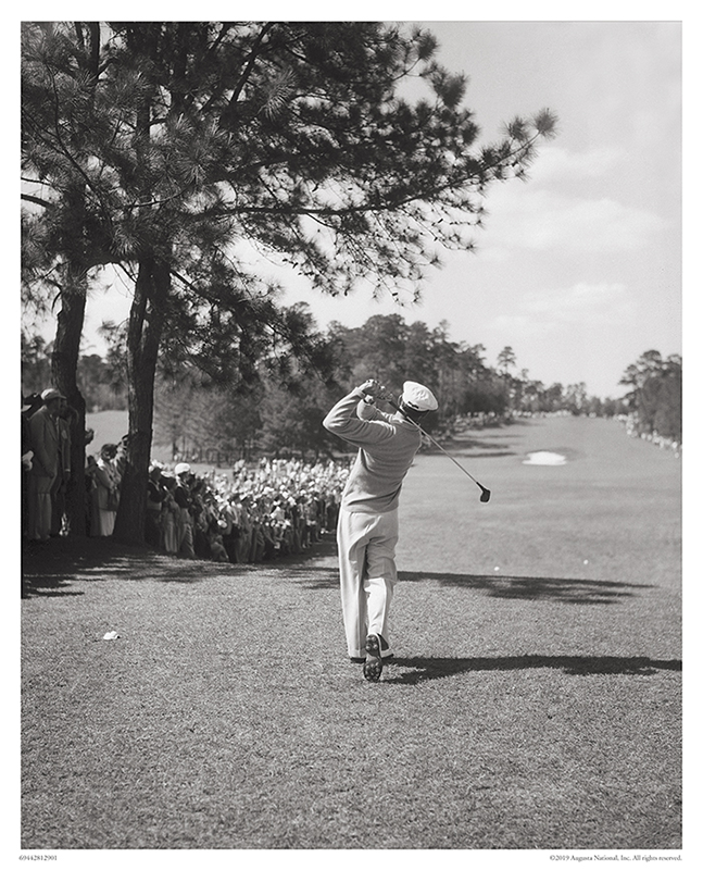 Ben Hogan Tees Off, 1951