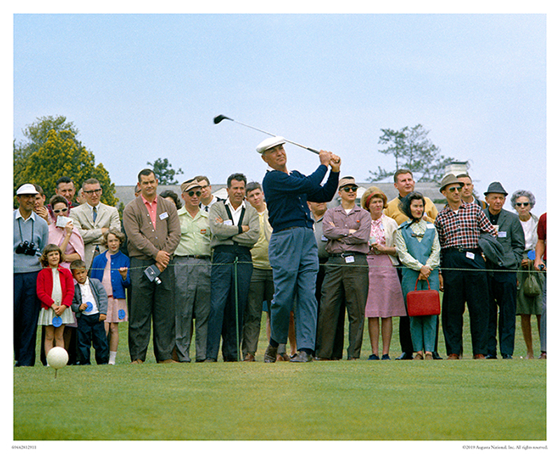 Ben Hogan on No. 10, 1966