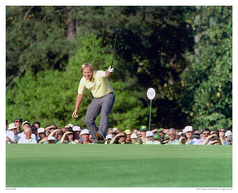 Jack Nicklaus on No. 17, 1986