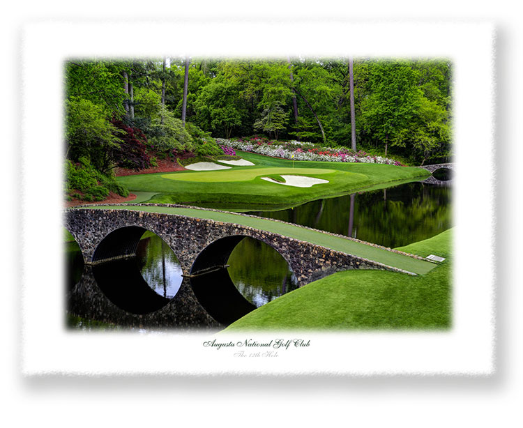 The 12th Hole Limited Edition Giclee' Print