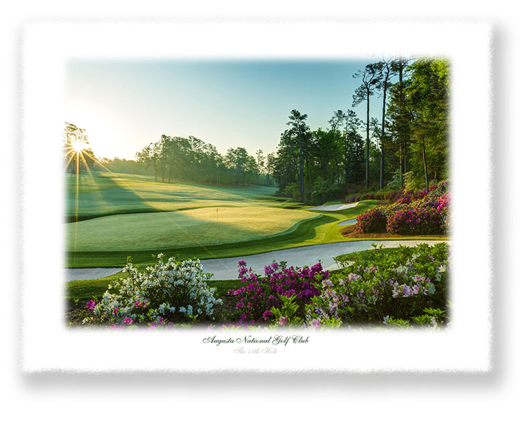 The 13th Hole Limited Edition Giclee' Print