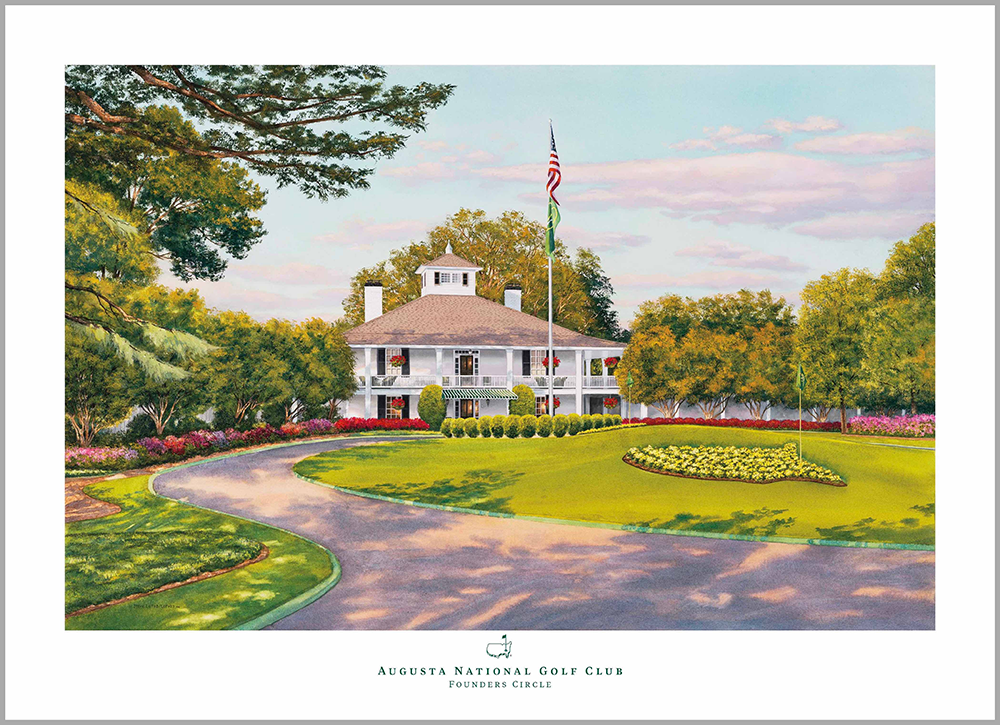 Limited Edition 2018 Founders Circle Lithograph