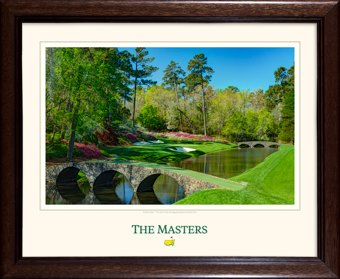 The 12th Green - Framed Print