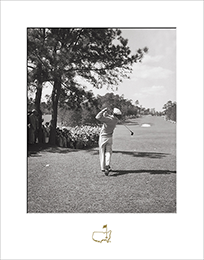Ben Hogan Tees Off, 1951 - Matted Version