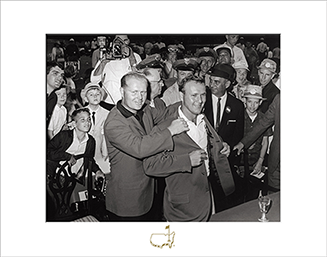 Gary Player, Arnold Palmer and Jack Nicklaus, 2000 - Matted Version