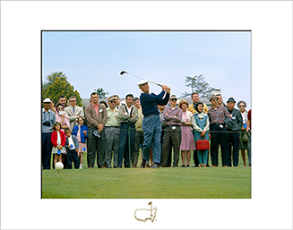 Ben Hogan on No. 10, 1966 - Matted Version