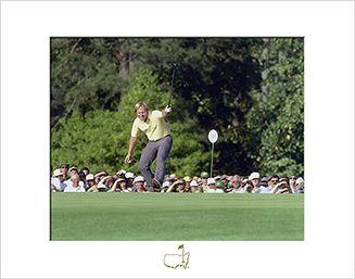 Jack Nicklaus on No. 17, 1986 - Matted Version