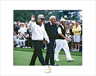 Jack Nicklaus, Arnold Palmer and Gary Player, 2001 - Matted Version