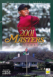 2001 Masters DVD