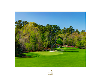 The 11th Hole – White Dogwood - Matted Version
