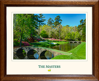 The 12th Green - Framed Print - Matted Version