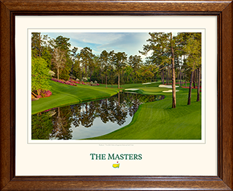The 16th Hole - Framed Print - Matted Version