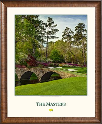 The 12th Green - Medium Wood Frame